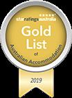Star Ratings Australia's Gold List of Australian Accommodation 2019