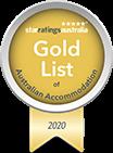 Star Ratings Australia's Gold List of Australian Accommodation 2020